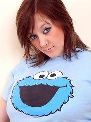 Horny cookie monster shirt cutie
